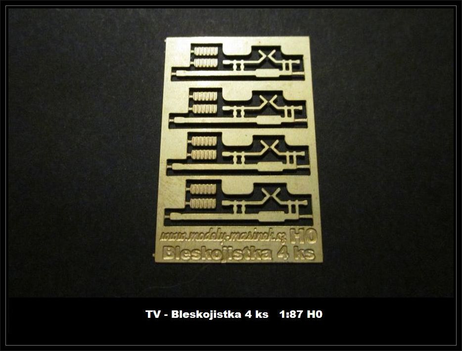 Bleskojistka TV - 4ks